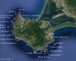 Diving Spots Monte Argentario
